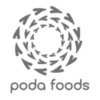 poda foods grey logo